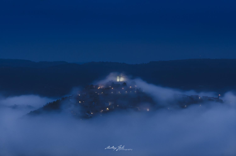 Before dawn by Andrej Folo