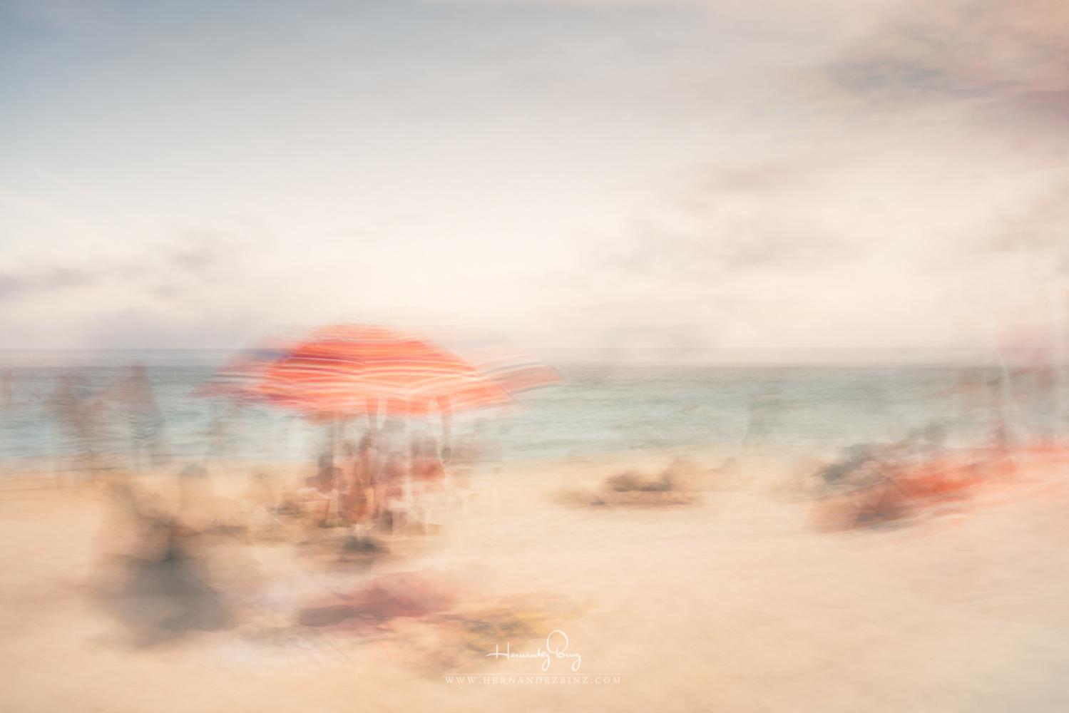 Red Umbrella by Adrian Hernandez Binz