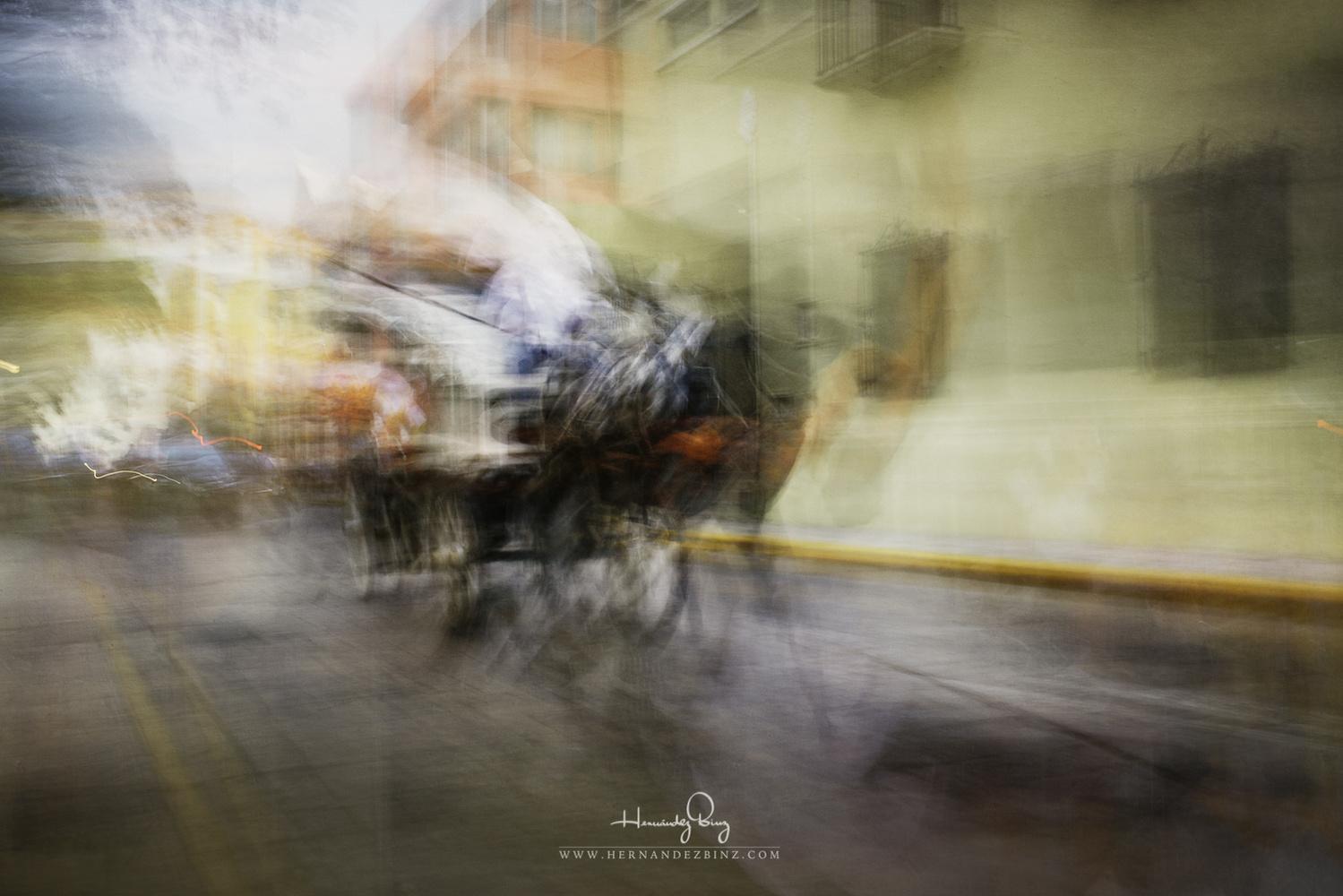 Santa Lucia's Charriots by Adrian Hernandez Binz