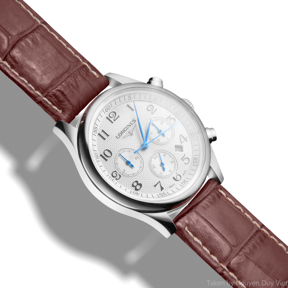 Longines watch on white background by Nguyễn Việt