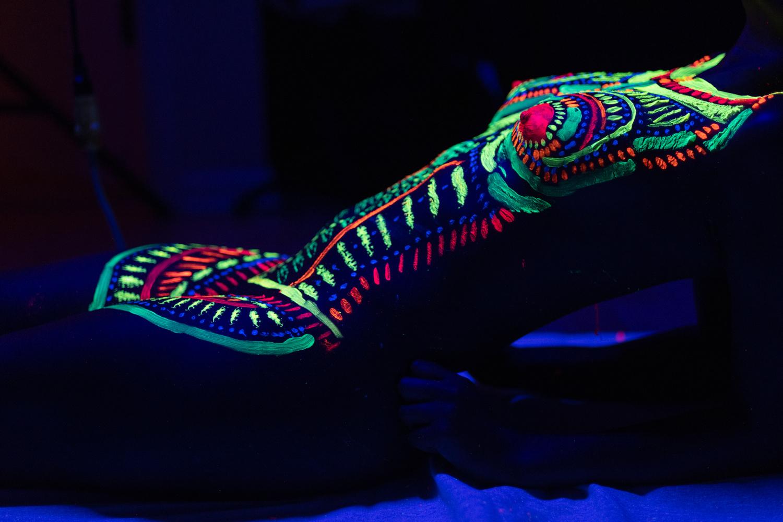 UV paint by Gabe Bankes