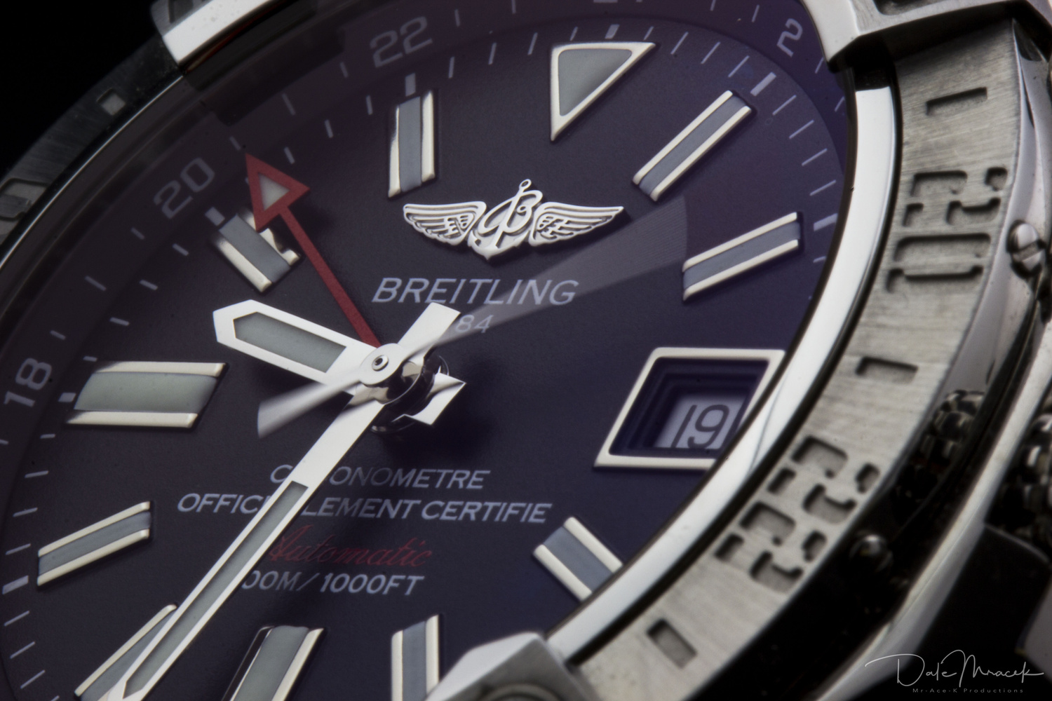 Breitling Avenger GMT II by Dale M