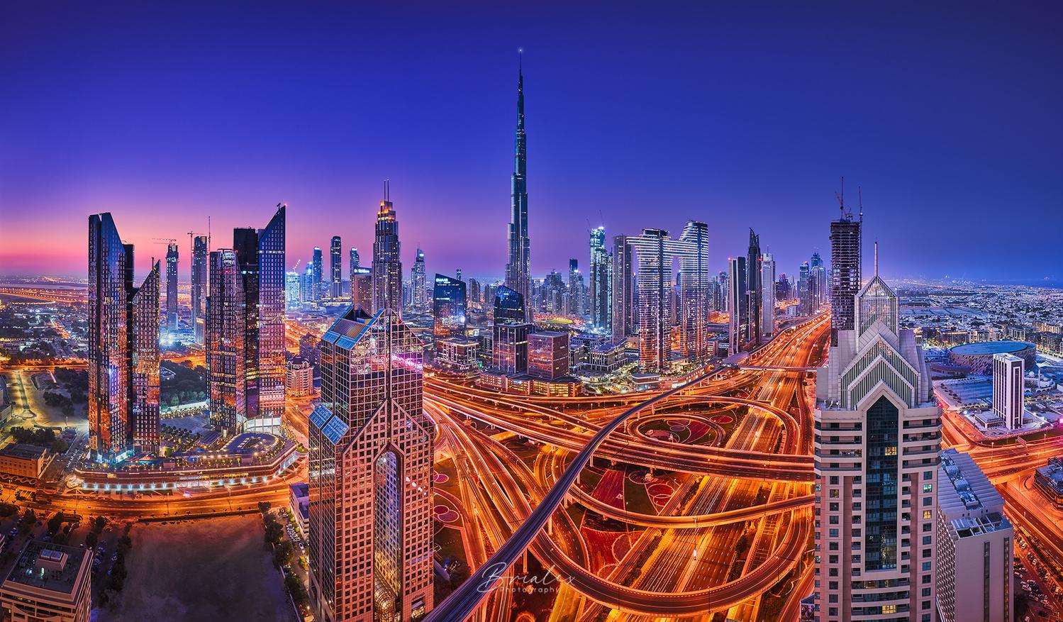 Dubai Rising from its Veins by Brighilă Alex