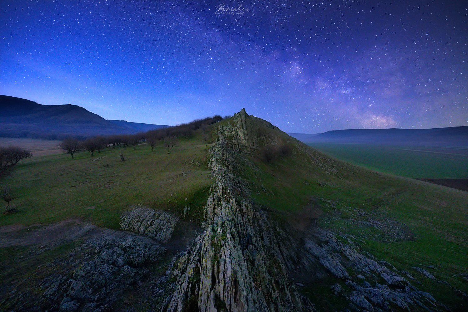 Looking towards millions of years ago by Brighilă Alex