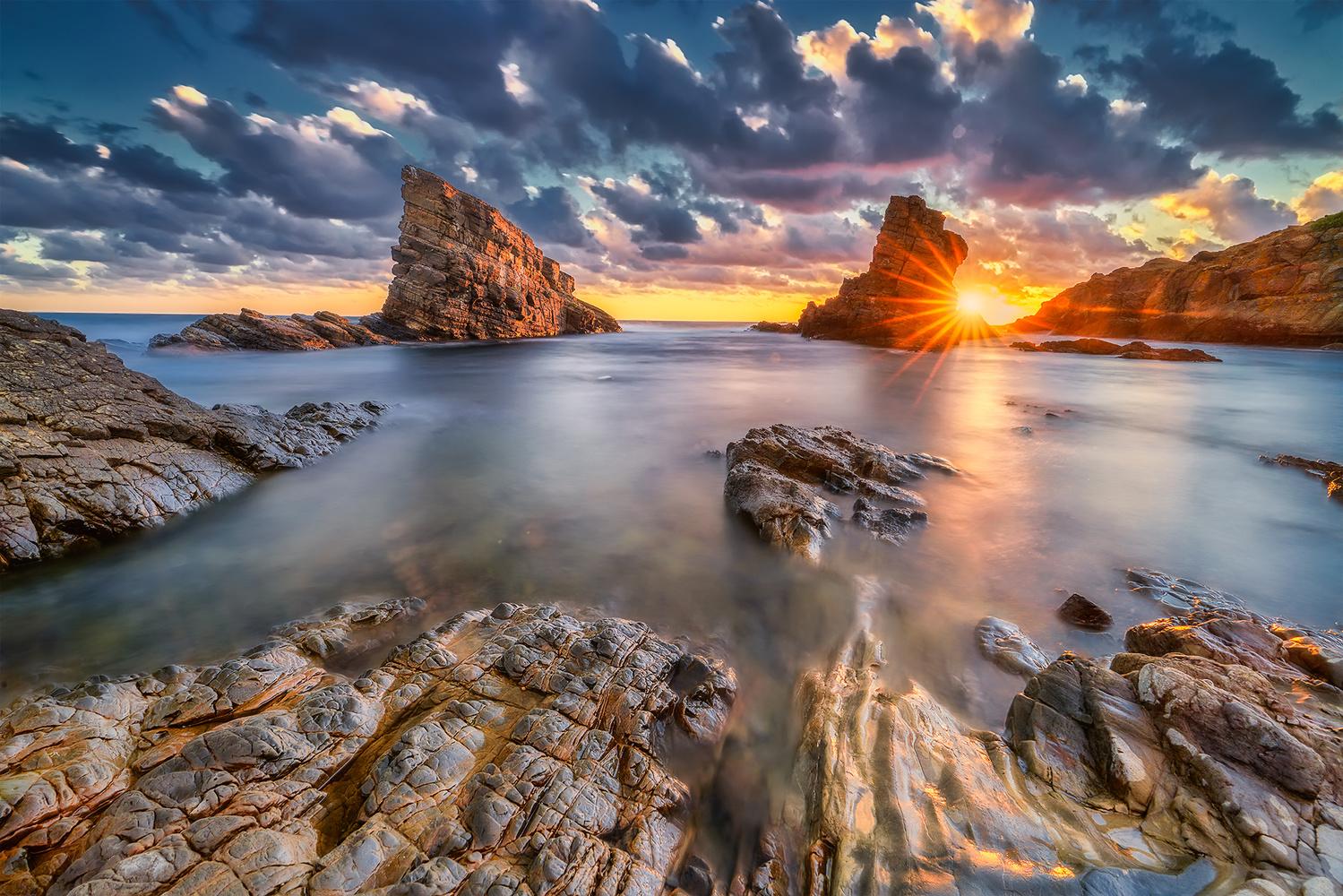 Black Sea Coast Line by Brighilă Alex