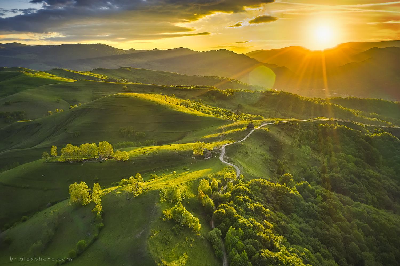 Romanian Sunset by Brighilă Alex