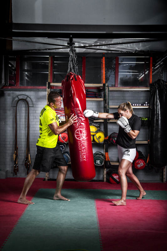 Fit and fight by Glenn Mostert