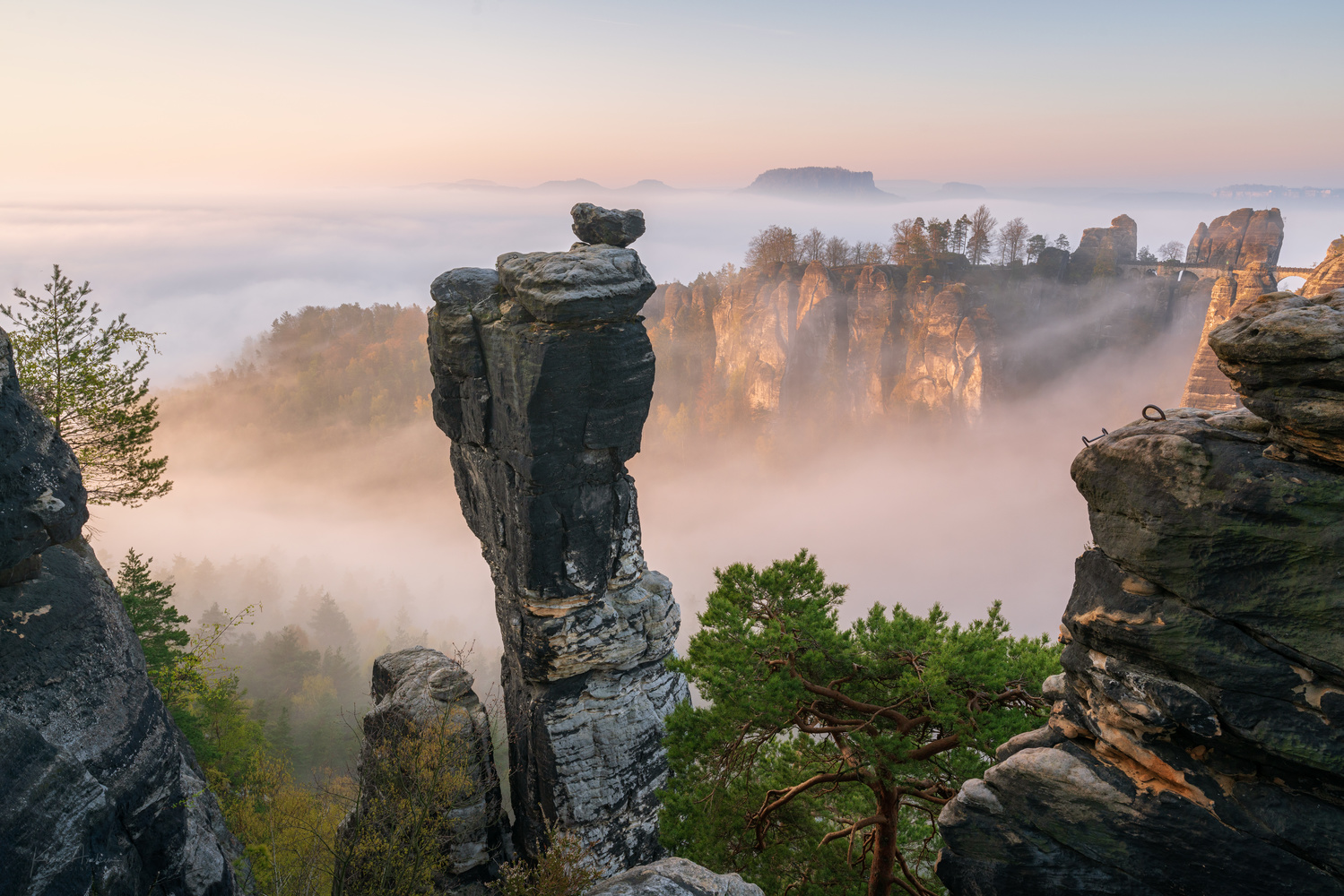 Foggy morning by Klaus Axelsen