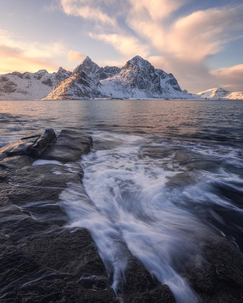 Morning at Vareid by Klaus Axelsen