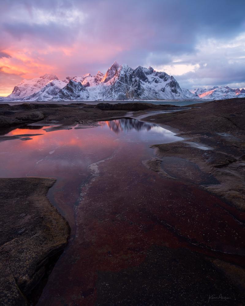 «Lofoten scenery» by Klaus Axelsen