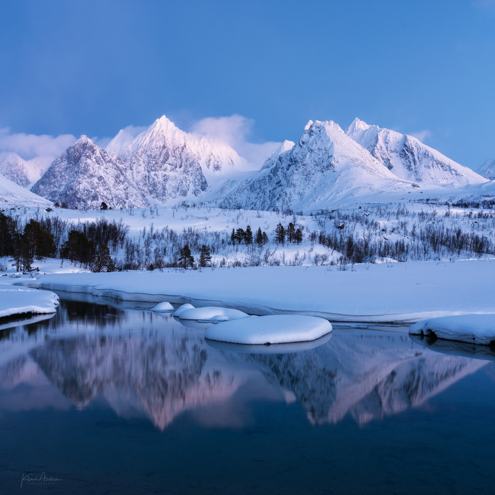 """Blue hour scenery"" by Klaus Axelsen"