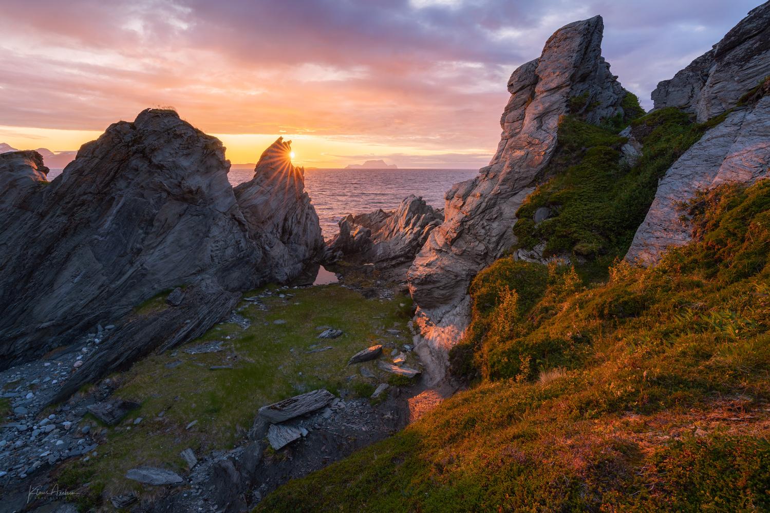 Cliffs of Lyngen by Klaus Axelsen