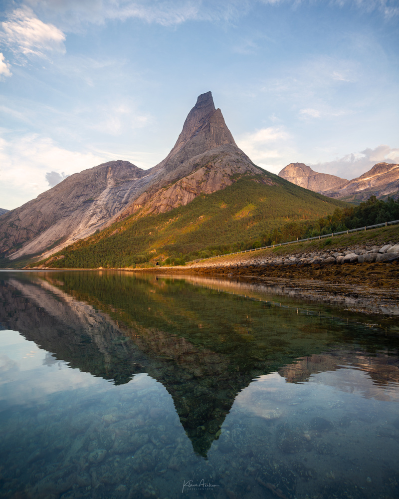 """""""Stetind - The national mountain of Norway"""" by Klaus Axelsen"""