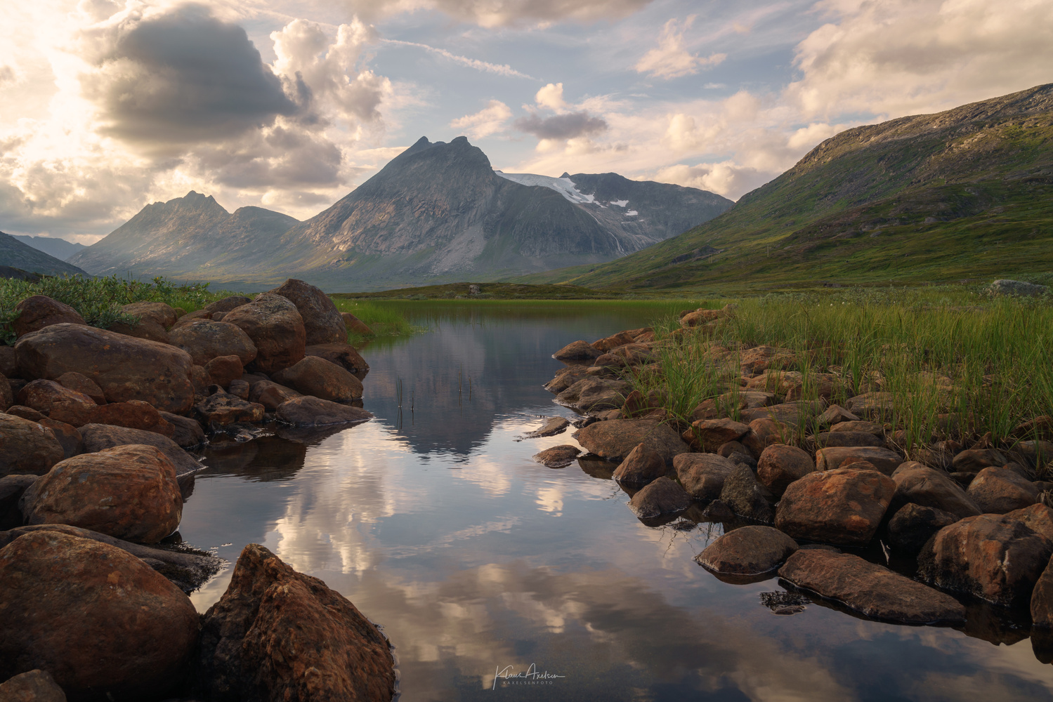 «Landscape from the north» by Klaus Axelsen