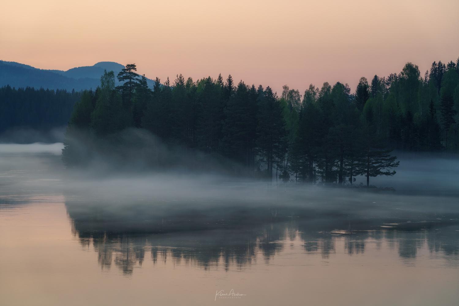 """Evening mist"" by Klaus Axelsen"