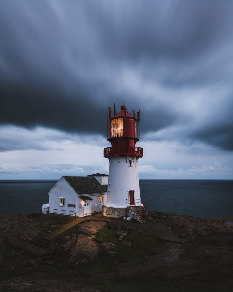 """The lighthouse"" by Klaus Axelsen"