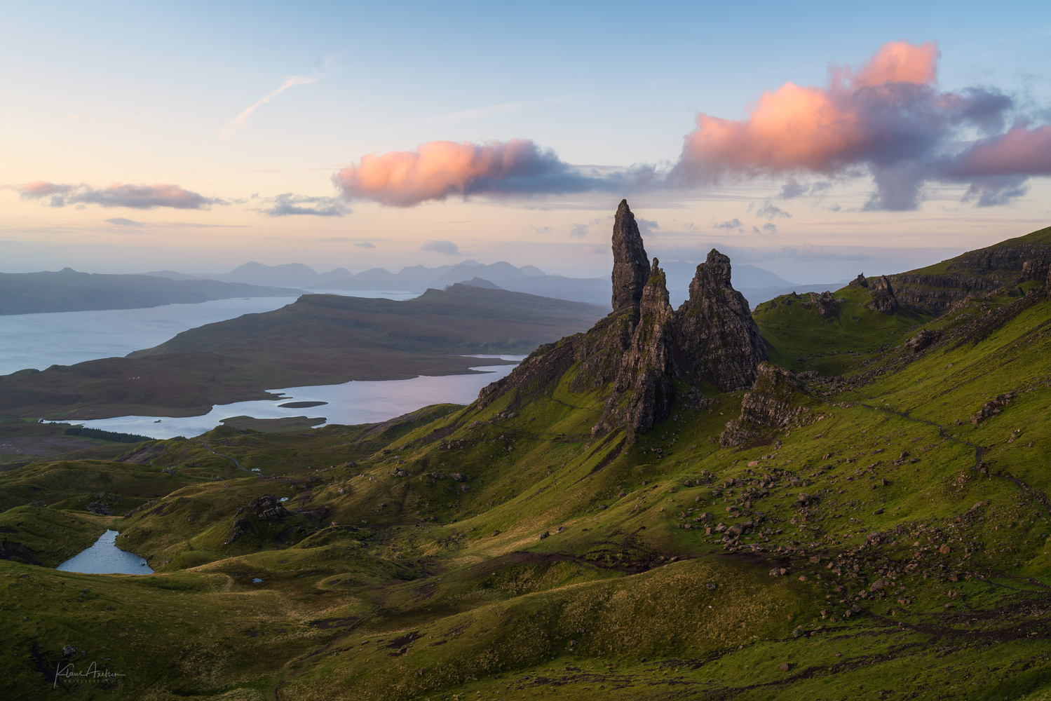 """The Old Man of Storr"" by Klaus Axelsen"