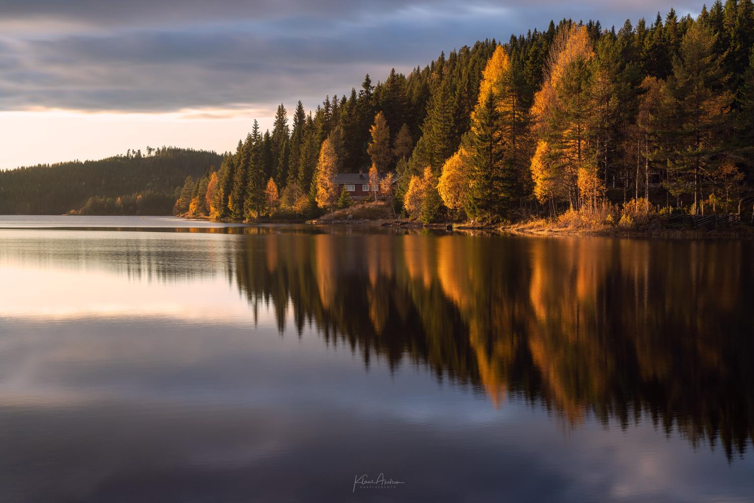 """Autumn glow"" by Klaus Axelsen"