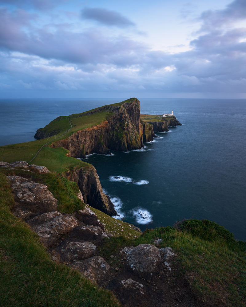 «Blue mood at Neist point lighthouse» by Klaus Axelsen