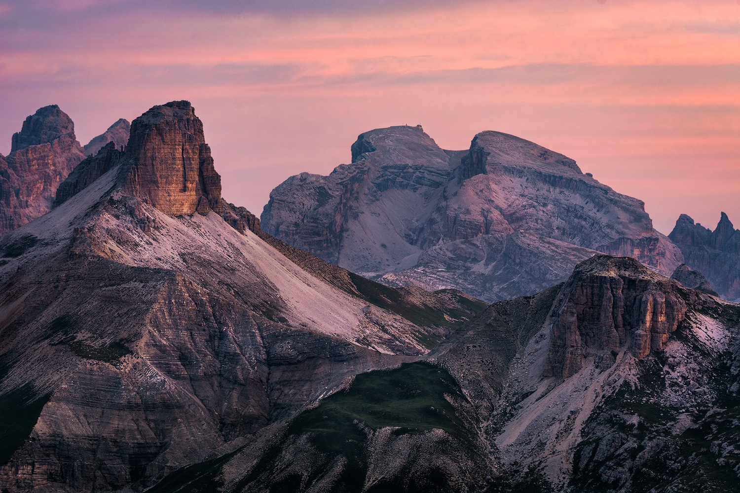 Morning in the Dolomites by Vid Rojc