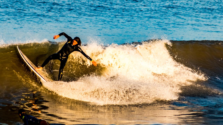 Surf Scarecrow by Kenneth Hofmann