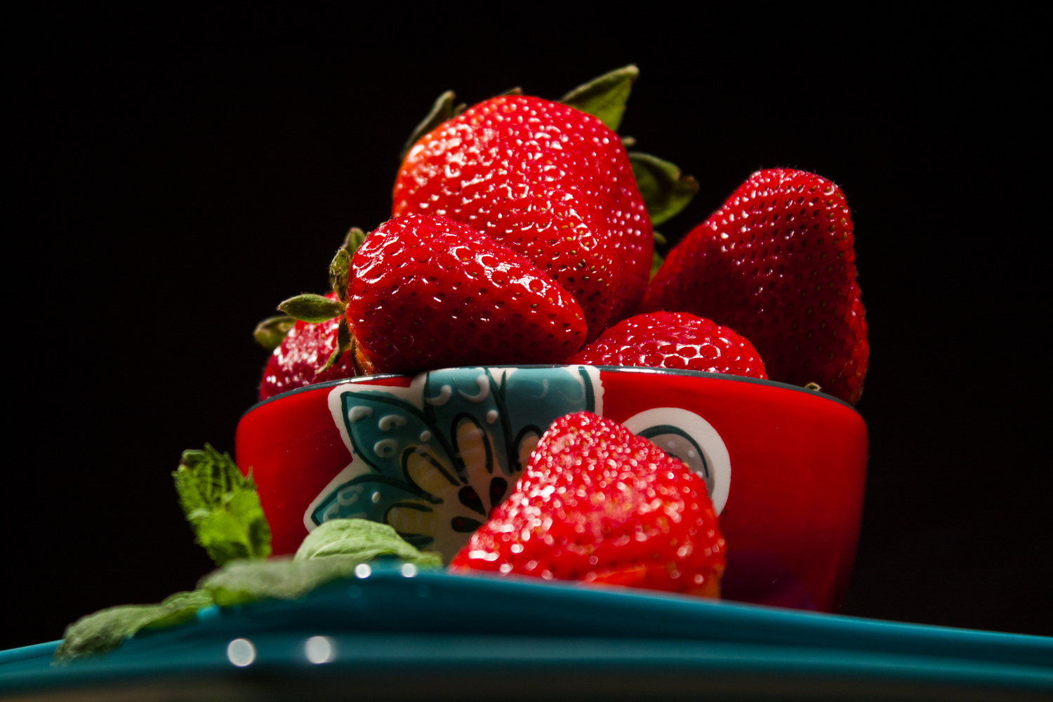 Strawberry perspective by Isaac Holyk