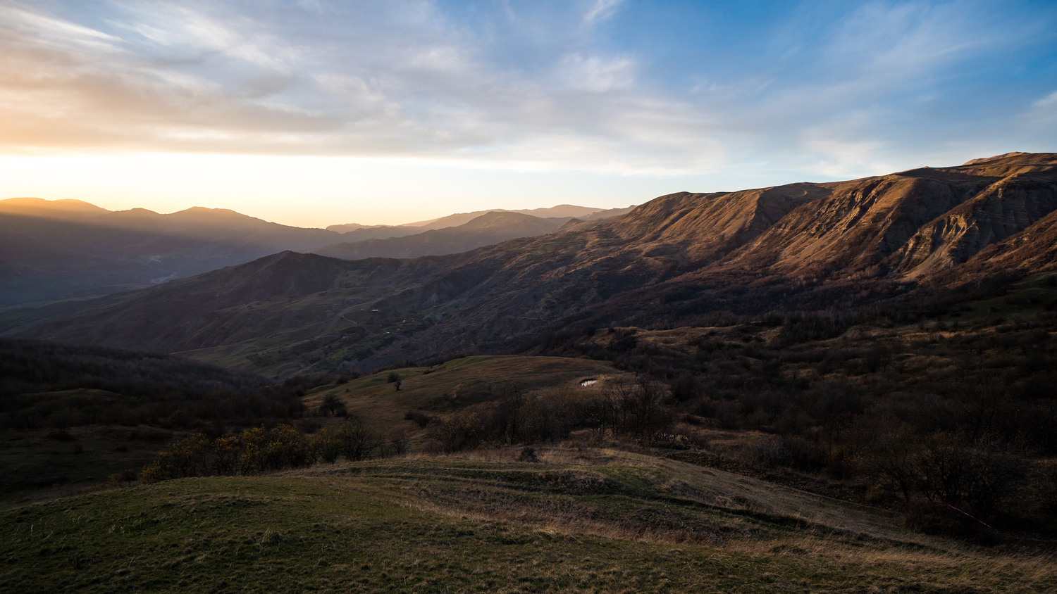 Greater Caucasus Mountains by Bret Little