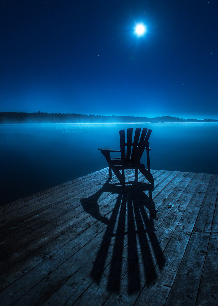 Sit. Feel the Night. by Michael Higgins