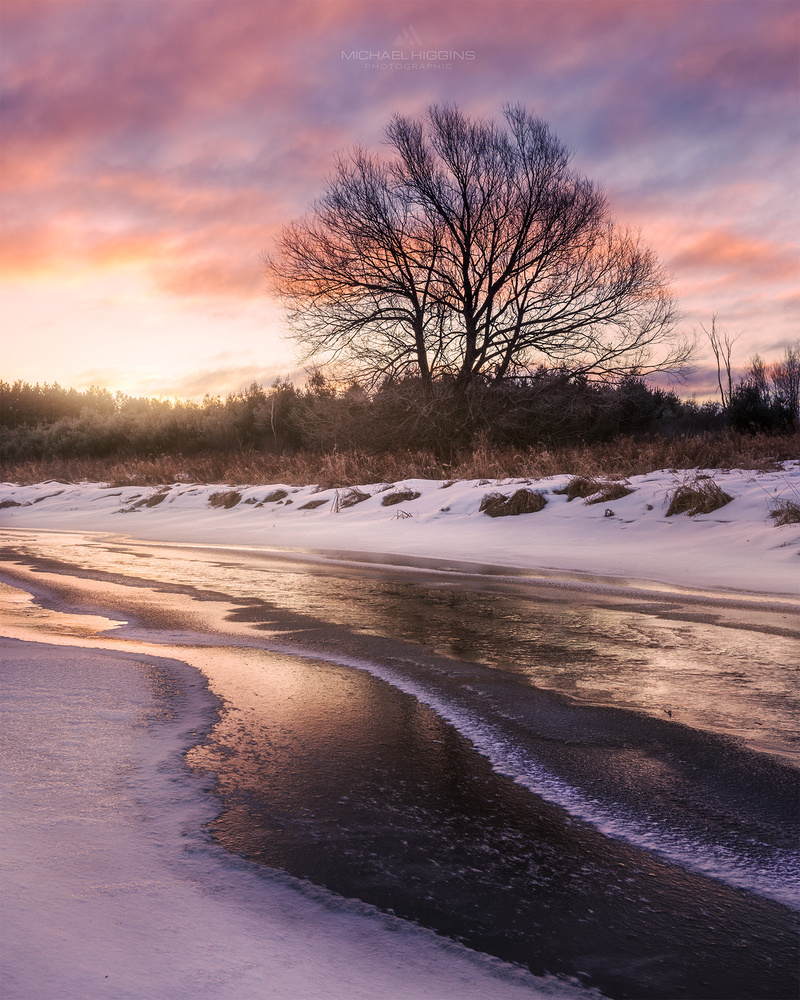 Thin Ice on Bear Brook by Michael Higgins