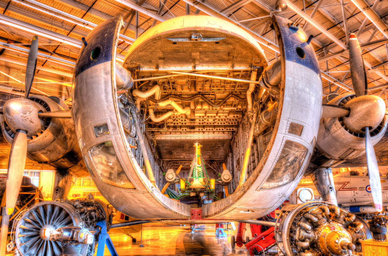 Bristol Freighter, Royal Air Museum, Winnipeg, MB by David Pavlich