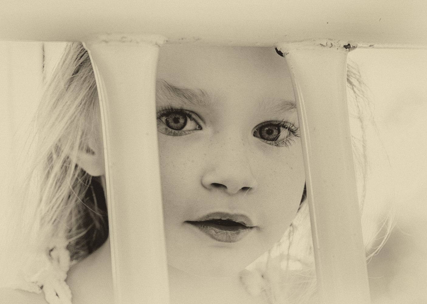 Lily at the playground by David Pavlich