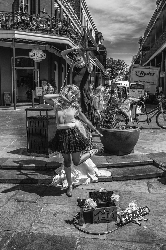 Puppeteer, New Orleans by David Pavlich