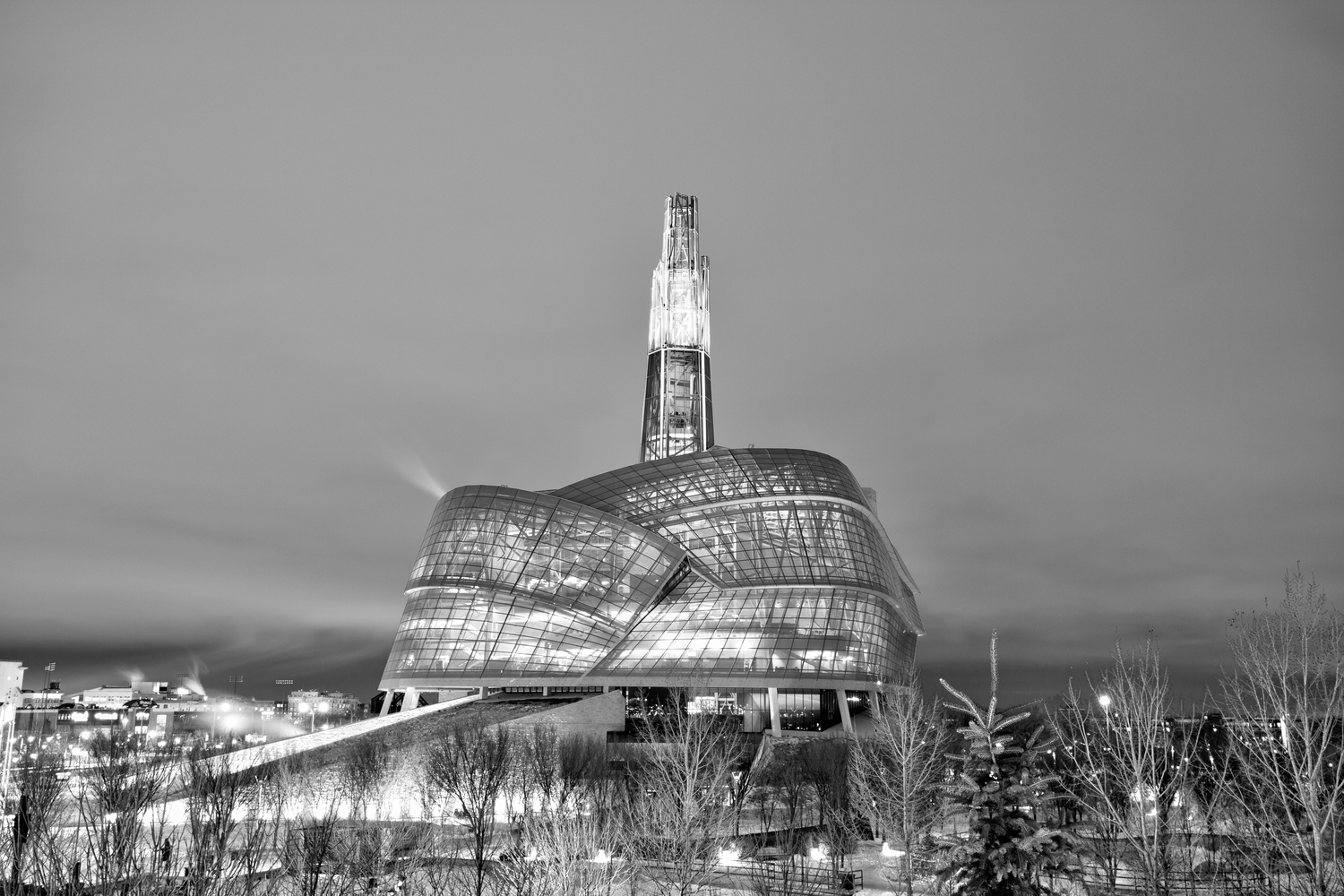 Canadian Museum of Human Rights by David Pavlich