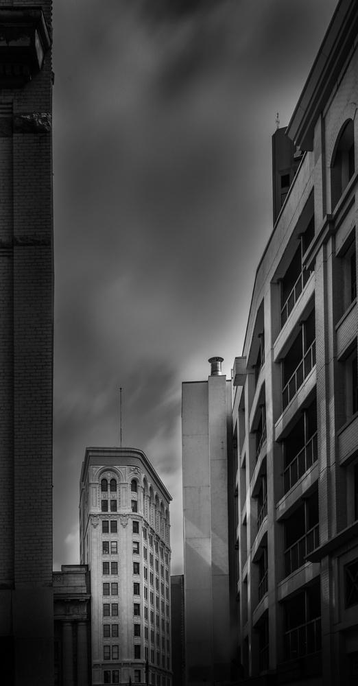 Downtown Winnipeg by David Pavlich