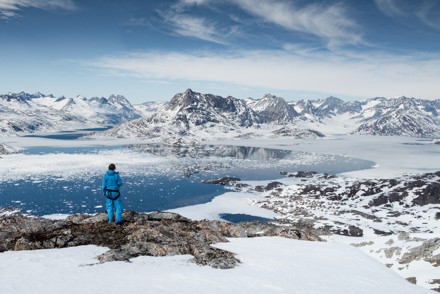 Overlooking the Inuits by Philip Field