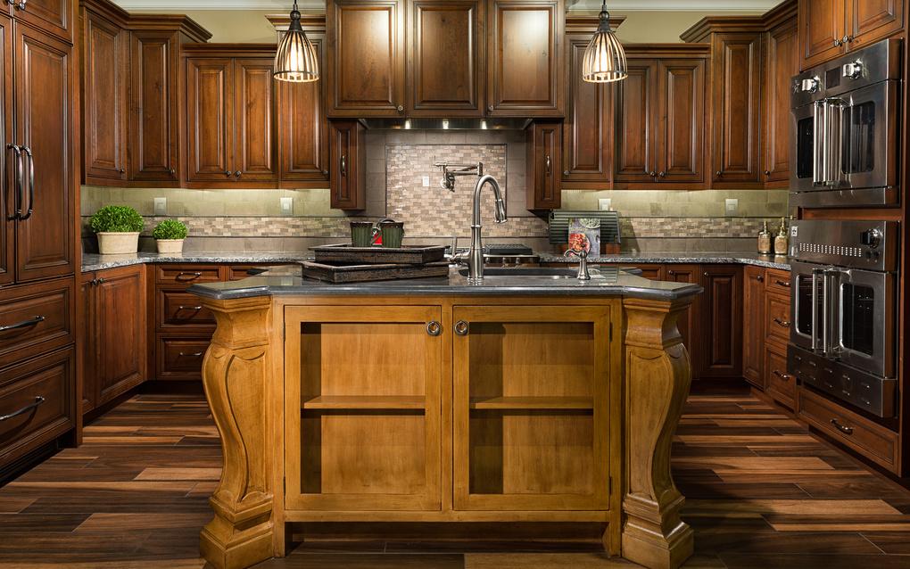 Wooden Kitchen by Jayce Giddens