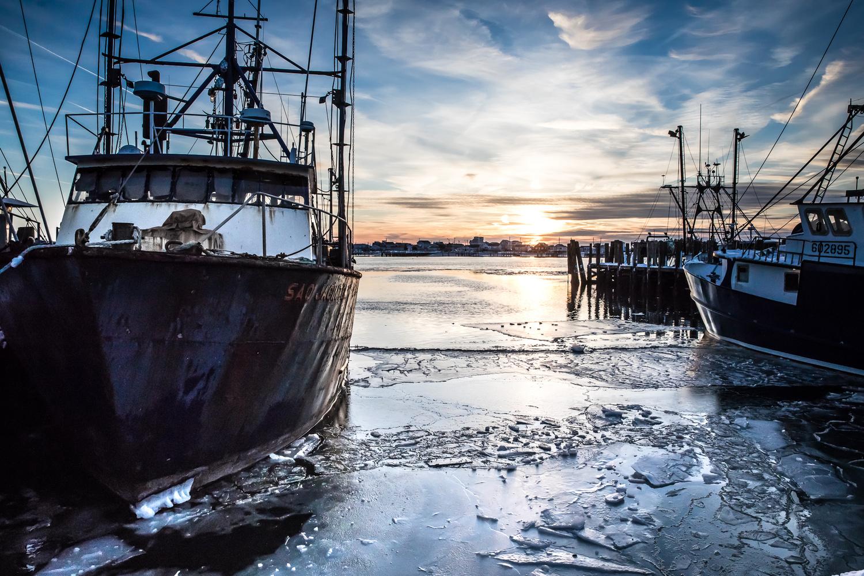 Frozen Fleet by Brian Pernicone