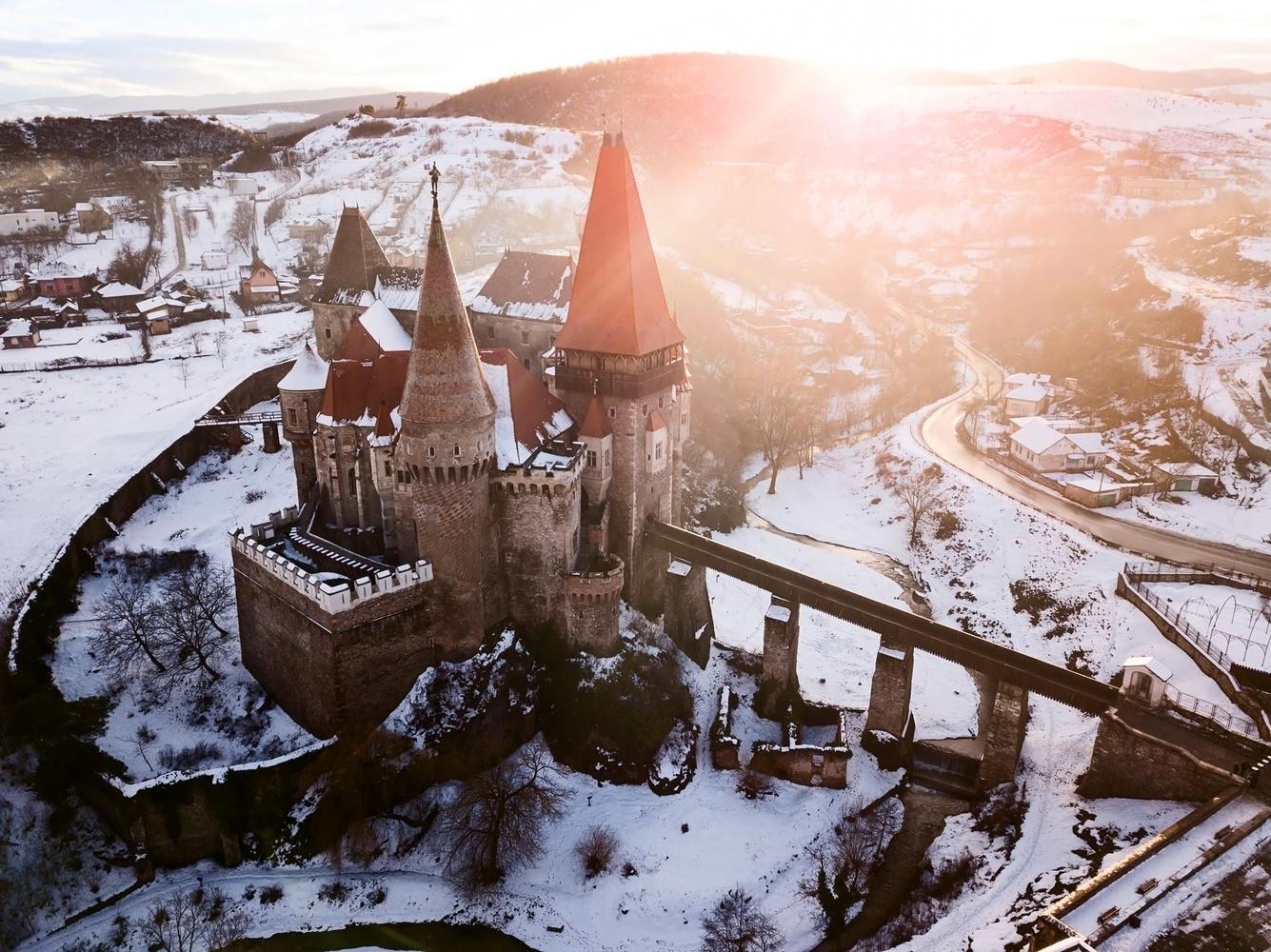 Huniad Castle by Adrian Zaharia