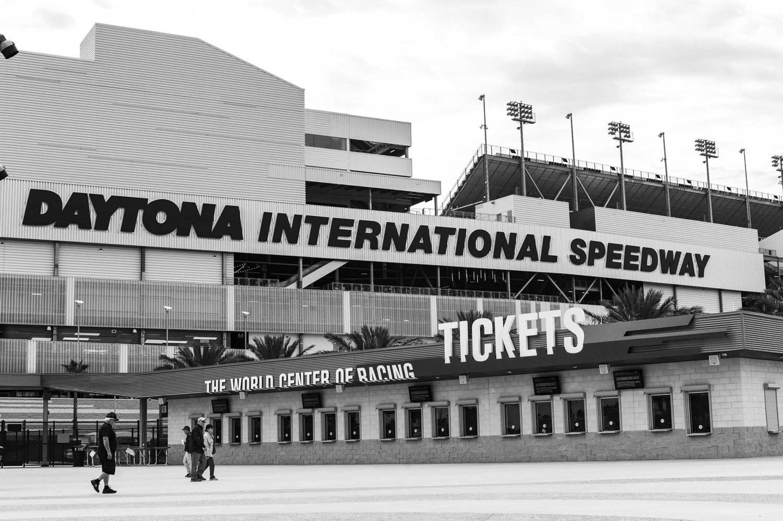 Daytona International Speedway by Ellis Bruce Paul