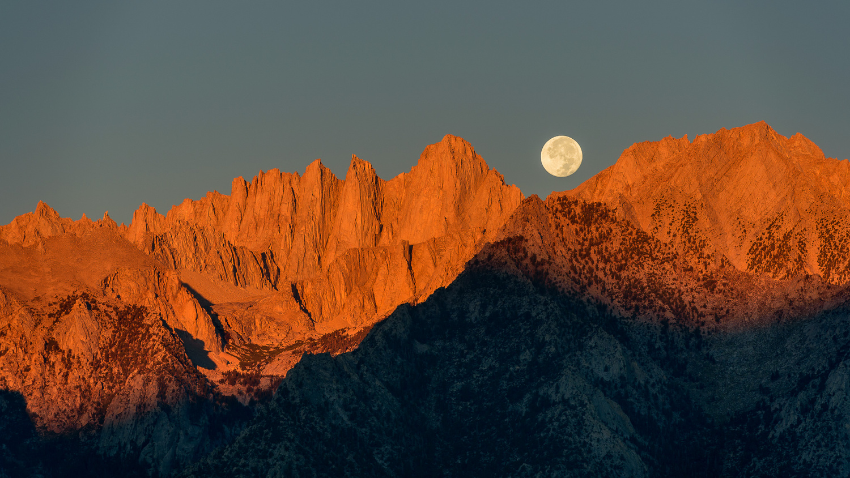 Classic Alabama Hills Sunrise Moonset by Matthew Saville