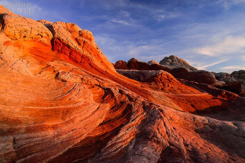 Vermillion Cliffs Sunset by Matthew Saville