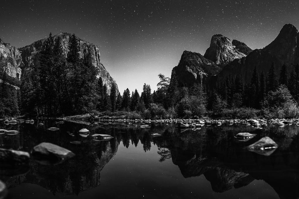 Yosemite Nightscape - Valley View by Matthew Saville