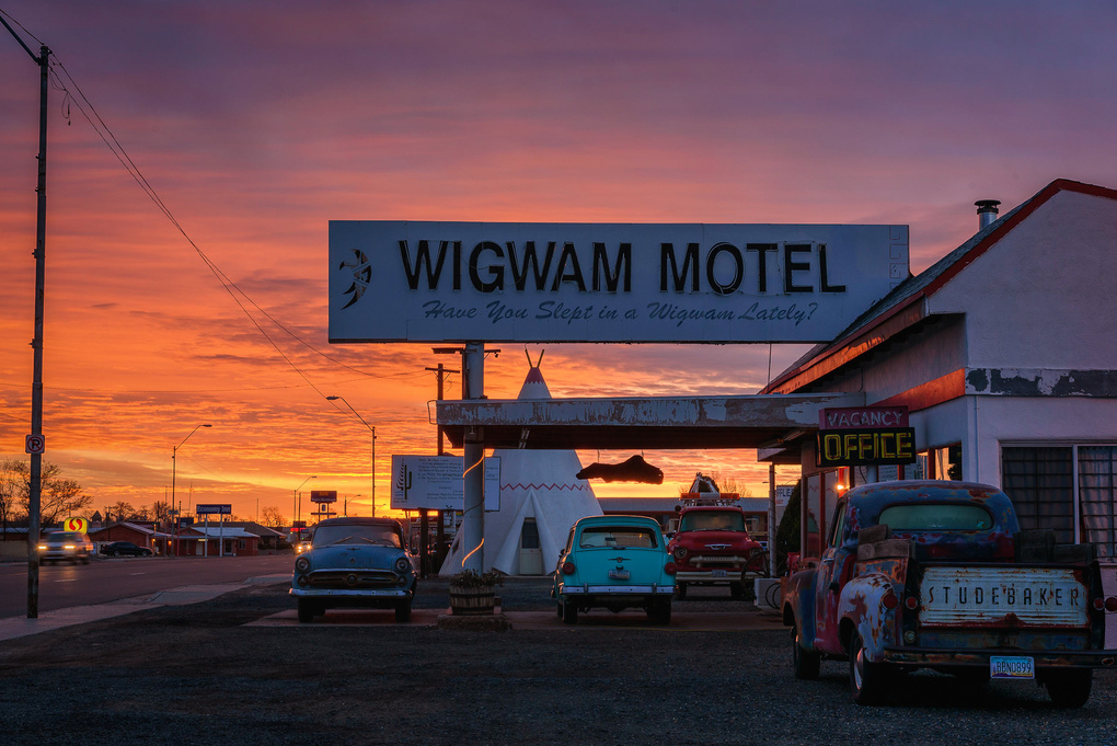 Route 66 Wigwam Motel - American Classic by Matthew Saville