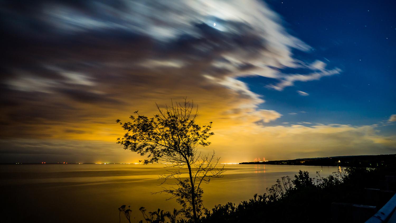 Late Night Lights by Mason Eckman