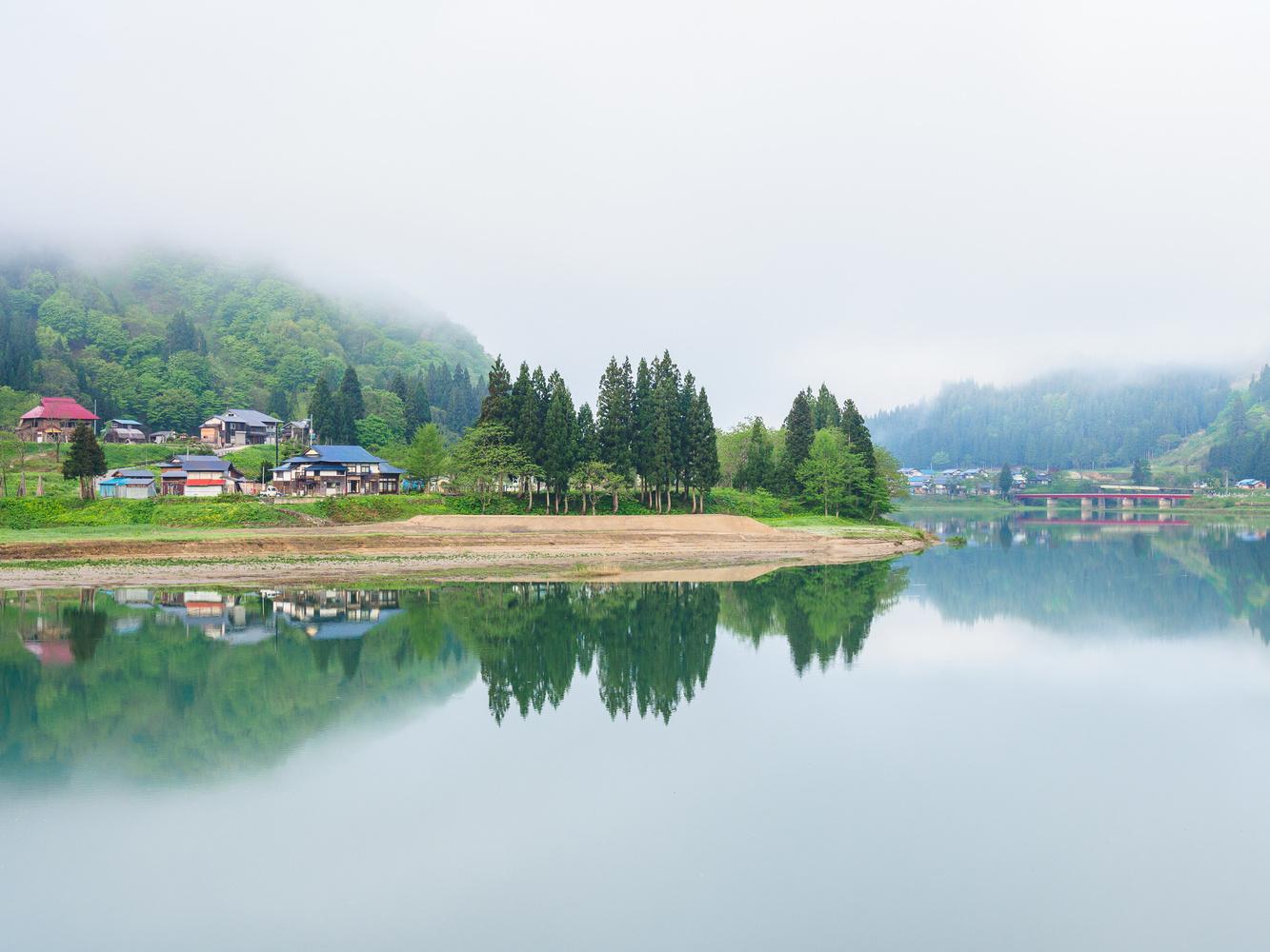 Village of an illusion by Hiroto Kanno