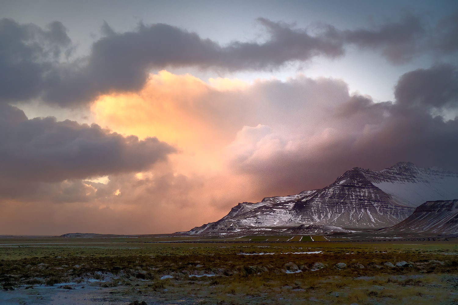 """There's a saying in Iceland that goes """"If you don't like the weather, wait 5 minutes"""" by Maria Sahai"""