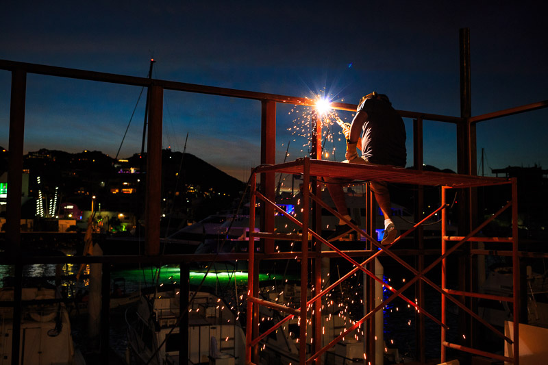 Welder by Joanna Lentini