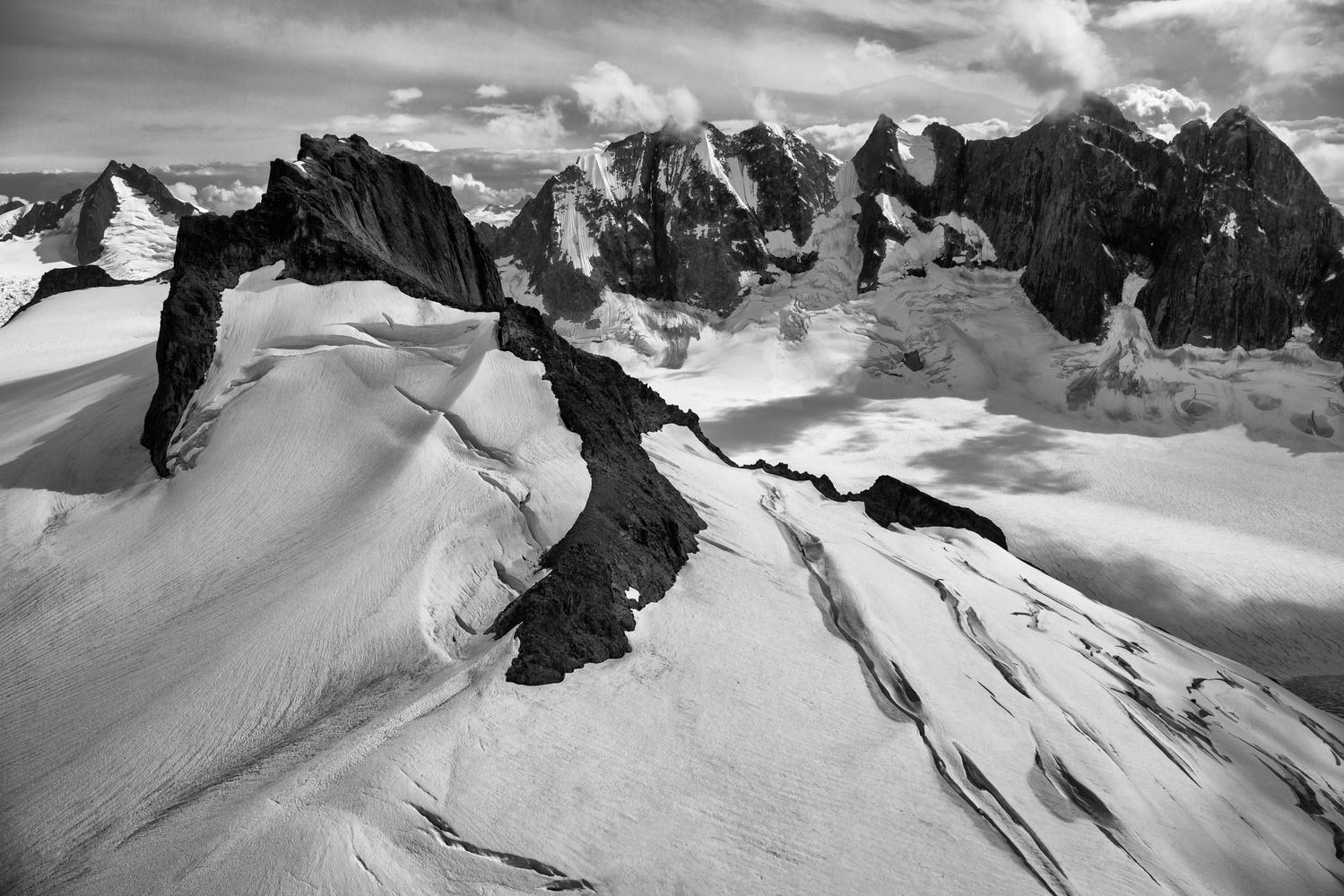 Above the Glaciers by Alex Coleman