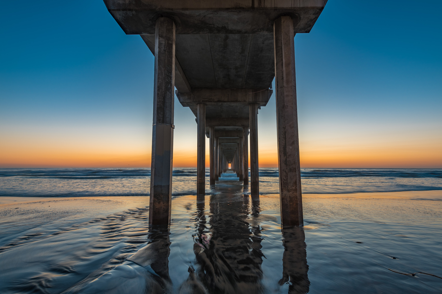 Under the Pier by Alex Coleman