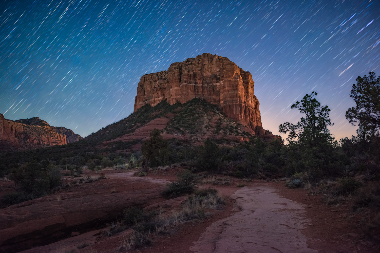 Sedona at Night by Alex Coleman